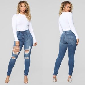 Ripped Highwaist jeans